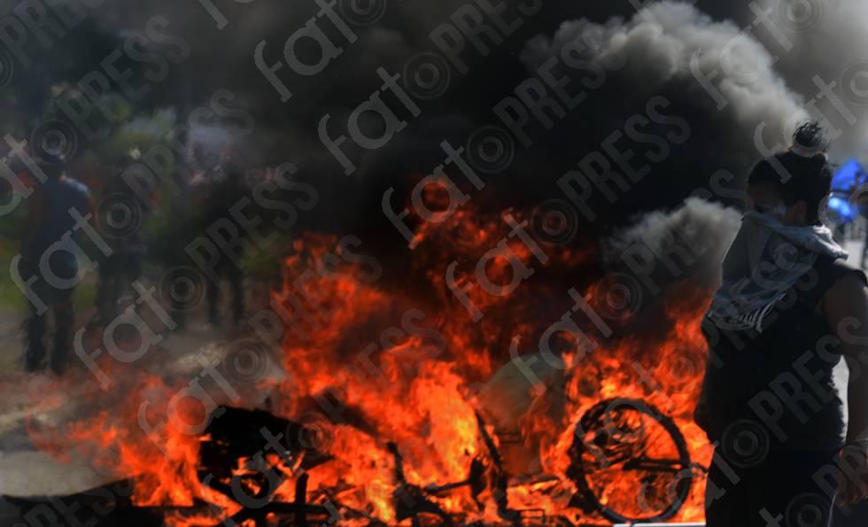 MANIFESTAÇÃO VIOLENTA EM BRASÍLIA-DF