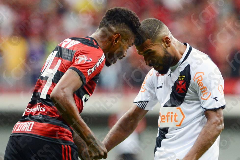 BRASILEIRO FUTEBOL- VASCO DA GAMA-RJ X FLAMENGO-RJ